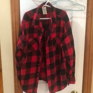 Thick Boy's Flannel Shirt